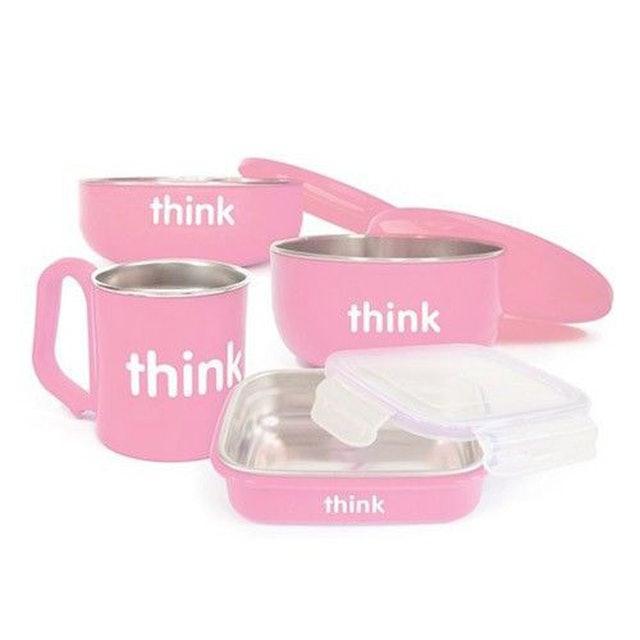 Thinkbaby 不鏽鋼餐具組 1