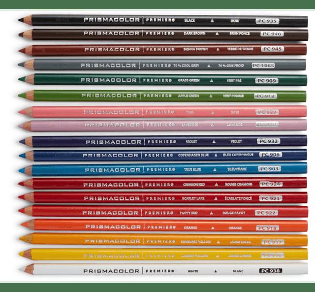 PRISMACOLOR  Premier 系列頂級油性色鉛筆 1