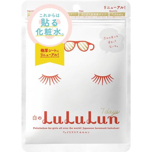 LuLuLun 化妝水面膜 1