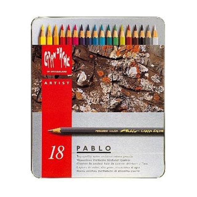 CARAN D'ACHE  PABLO 專家級油性色鉛筆 1