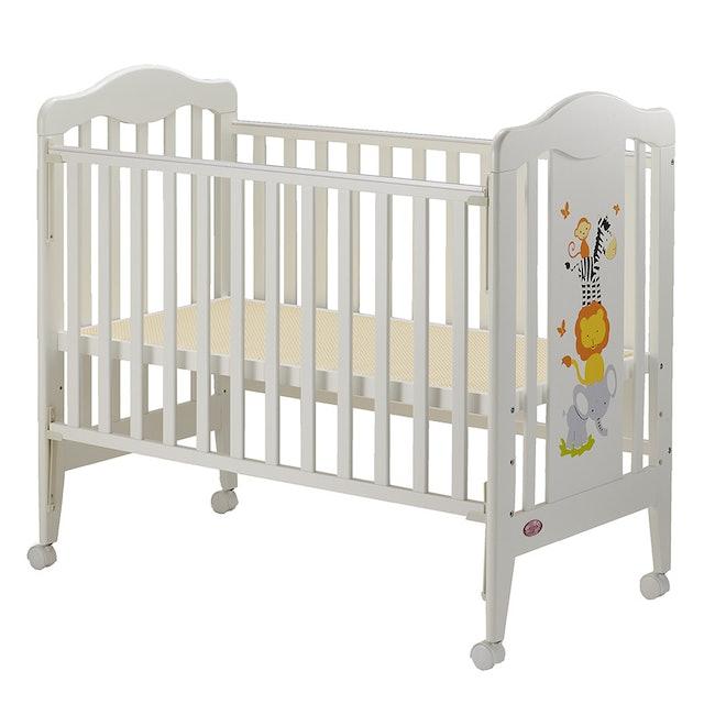 優生房 快樂動物嬰兒床 1