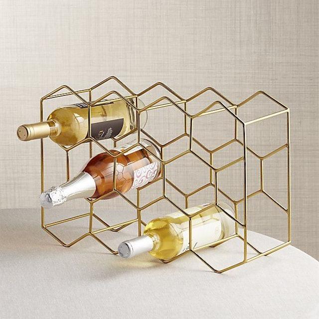 Crate&Barrel 裝酒瓶架 1