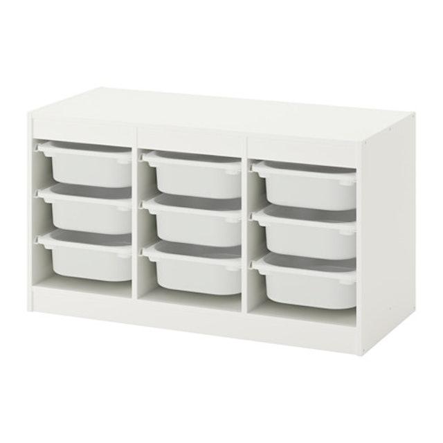 IKEA TROFAST 收納組合附收納盒 1