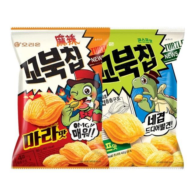 ORION好麗友 烏龜玉米脆片 1