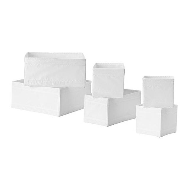 IKEA SKUBB 收納盒6件組 1