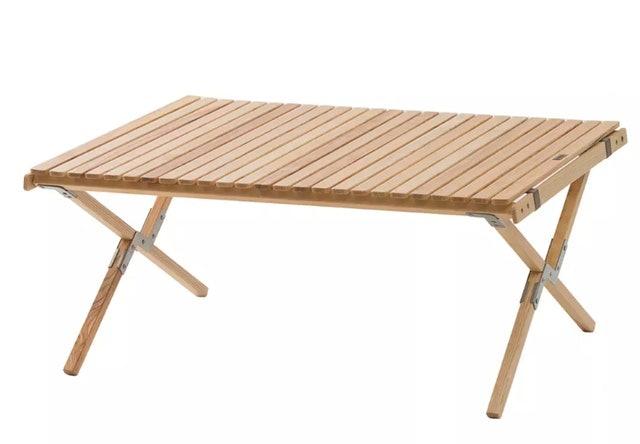 ELEOS 可調高度實木蛋捲桌 1