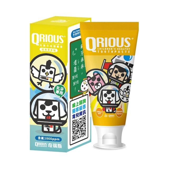QRIOUS奇瑞斯  雙效紫錐菊護齒膏 1