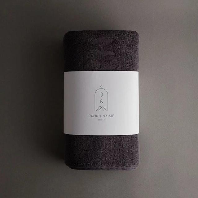 DAVID & MAISIE 100%純棉柔軟浴巾 1