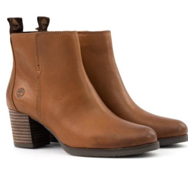 Timberland 全粒面皮革Eleonor Street 休閒鞋 A1PZ5 1