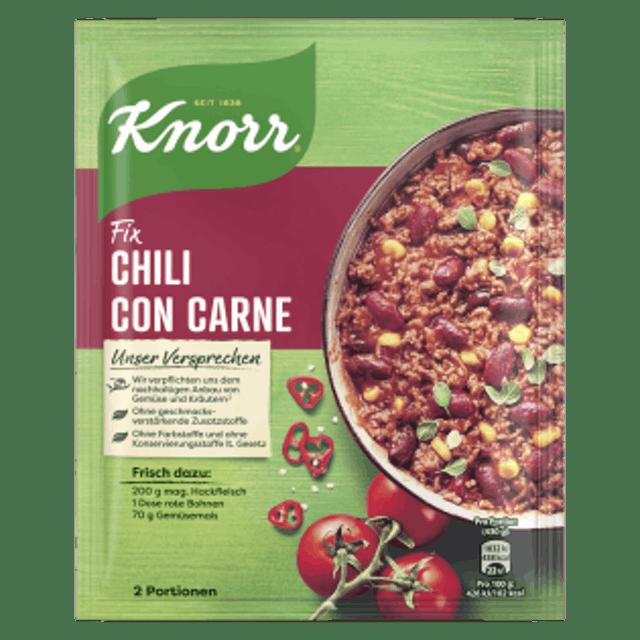 KNORR 墨西哥辣肉醬 Chili con Carne 1