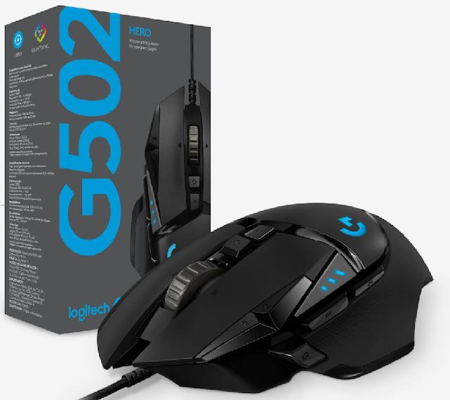 logitech羅技  G502 Hero高效能電競滑鼠 1