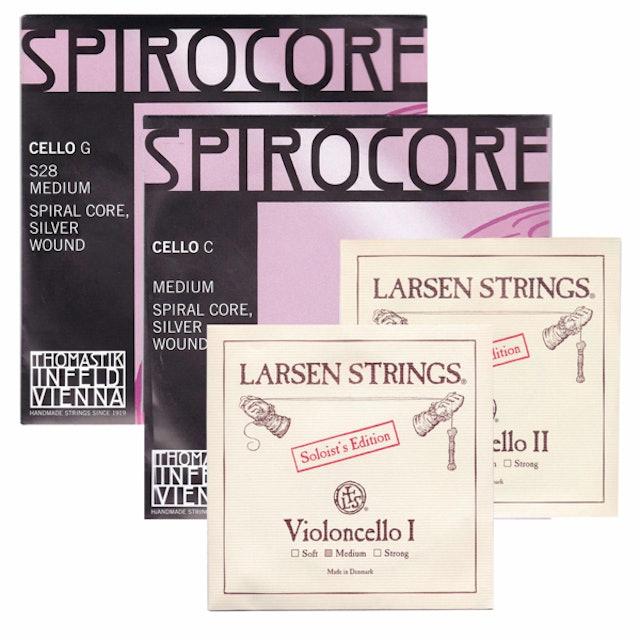 LARSEN + SPIROCORE 大提琴弦 1