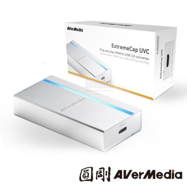 AVerMedia圓剛 ExtremeCap UVC 免驅動影像擷取器 1