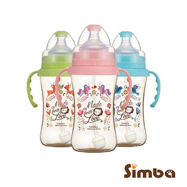 Simba小獅王辛巴 PPSU 自動把手寬口中奶瓶 1