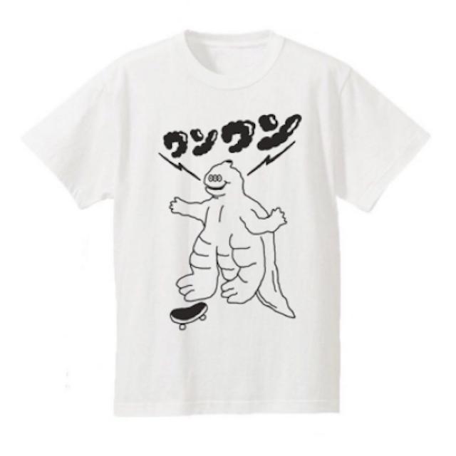 CITYDUMP都市廢棄所  哥吉拉滑板怪獸汪汪T-shirt 1