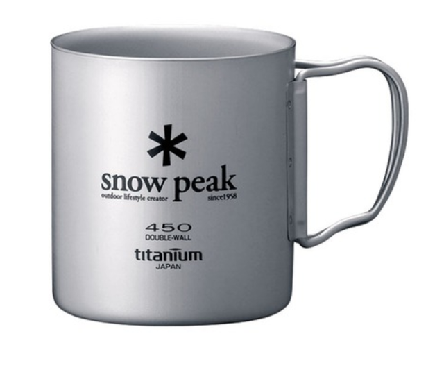 snow peak  鈦合金雙層杯  1
