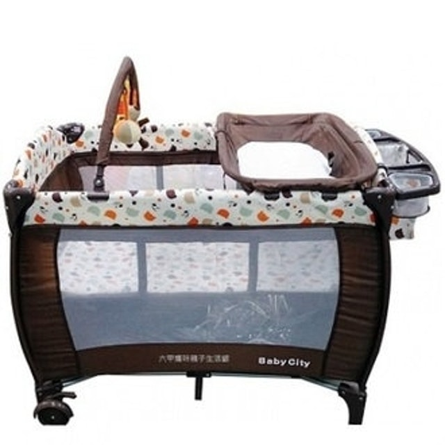 Baby City  全配式雙層遊戲床 1