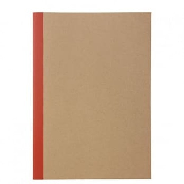 MUJI無印良品 線裝空白筆記本  1