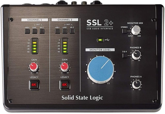 Solid State Logic SSL2+ 2-In/4-Out 錄音介面 1