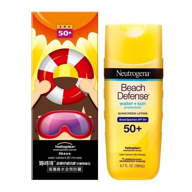 Neutrogena露得清  海灘終極防護防曬隔離乳 1