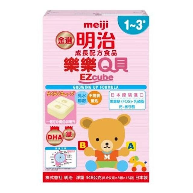 meiji明治 樂樂Q貝奶粉塊 1