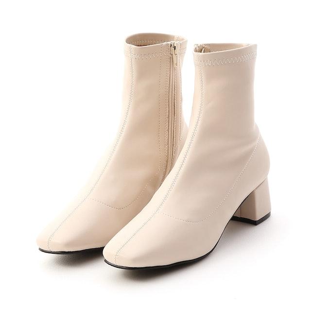 D+AF  中跟方頭襪靴 1