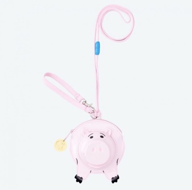 東京迪士尼樂園  玩具總動員火腿豬票卡夾 1