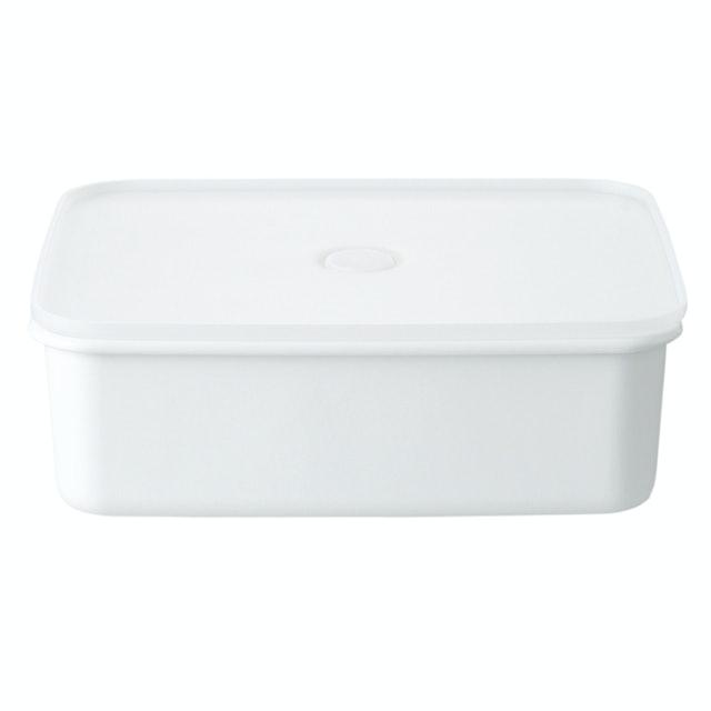 MUJI無印良品 深型琺瑯保存容器 1