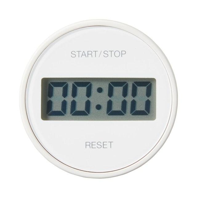 MUJI無印良品 廚房用圓形計時器 1