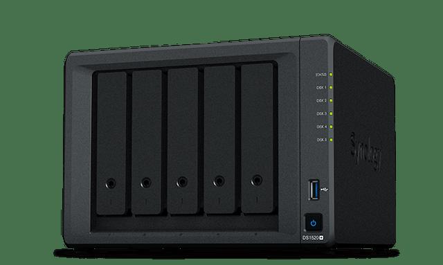 Synology群暉科技 5Bay NAS 網路儲存伺服器 1