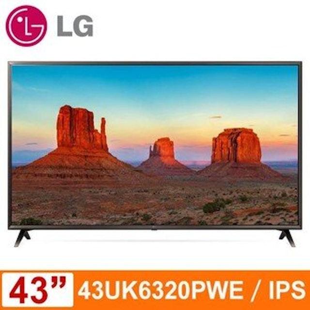 LG 4K IPS連網液晶電視  1