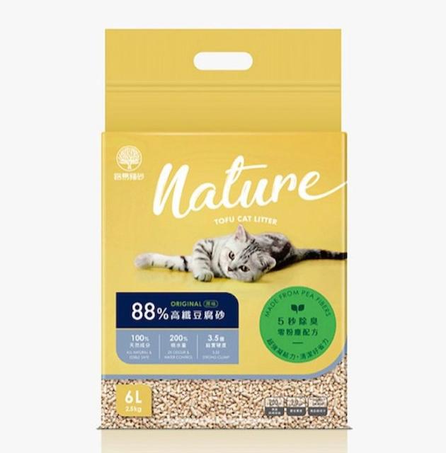 路易貓砂 88% 高纖豆腐砂 1