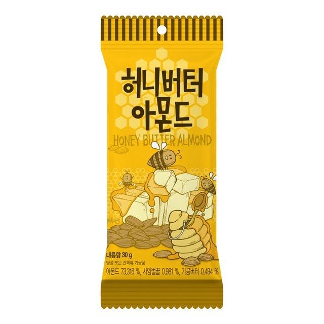 Toms Gilim 蜂蜜奶油杏仁果 1