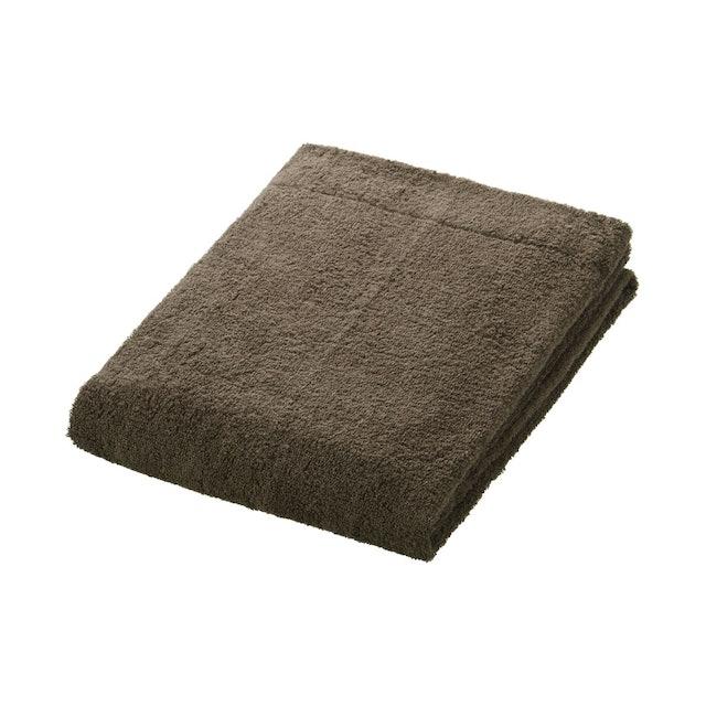 MUJI 薄型棉圈絨小浴巾 1