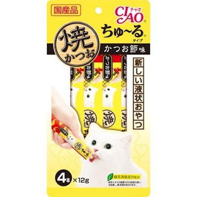 CIAO  貓咪肉泥 1