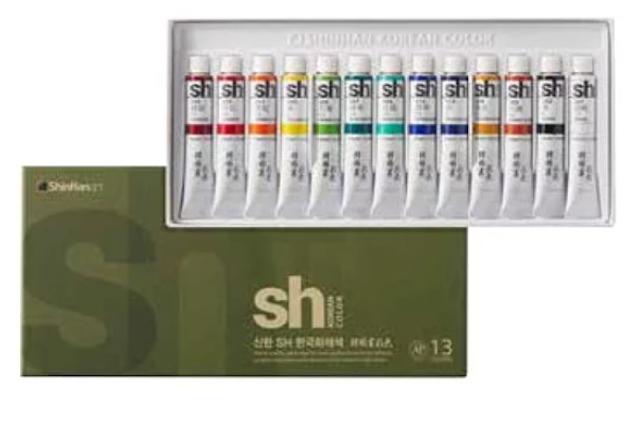 ShinHan新韓 國畫顏料 1