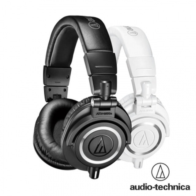 鐵三角 專業型監聽耳機 ATH-M50x 1