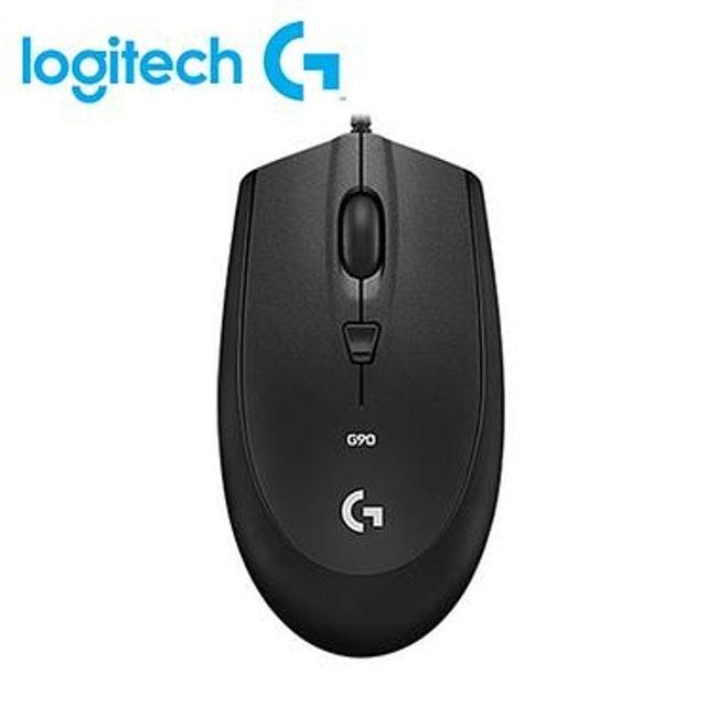 Logitech羅技 光學遊戲滑鼠 G90(有線) 1