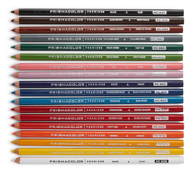 PRISMACOLOR  頂級油性色鉛筆 1