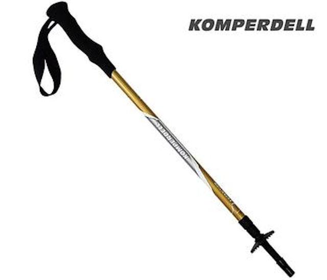 KOMPERDELL 短握把避震登山杖 1