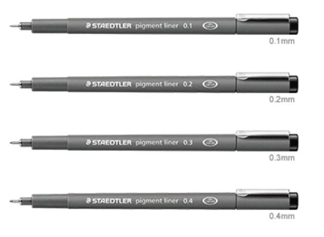 STAEDTLER  耐水代針筆 1