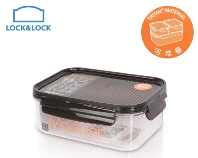 LOCK & LOCK樂扣樂扣 晶透抗菌保鮮盒 1