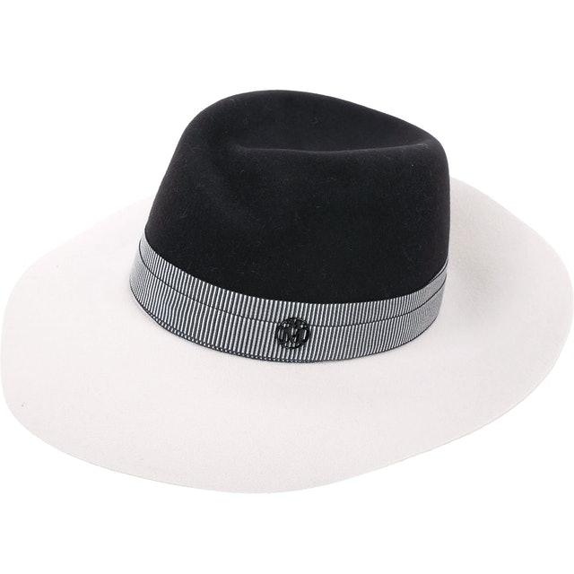 Maison Michel 寬沿帽 1