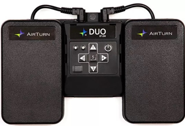 AirTurn DUO 雙踏板型翻譜器  1
