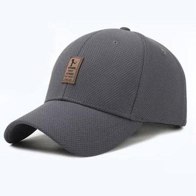 素色運動鴨舌帽 1