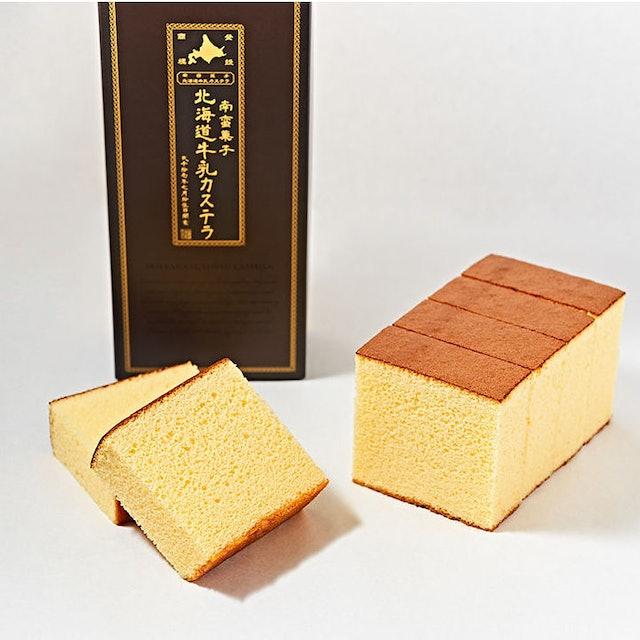 北海道牛乳カステラ 北海道牛乳長崎蛋糕 1