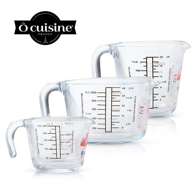 O cuisine 耐熱玻璃烘焙量杯 1