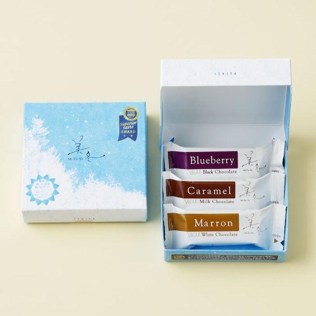 石屋製菓 美冬 巧克力千層酥 1