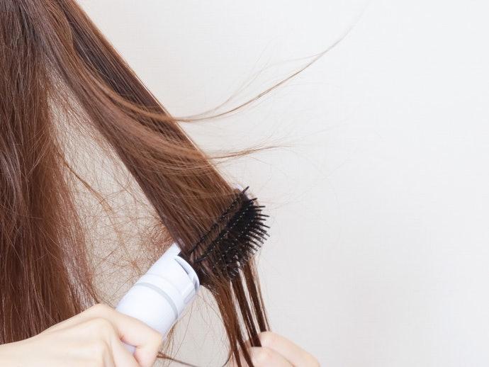 【實測結果】風量過強會導致相鄰髮絲被吹散
