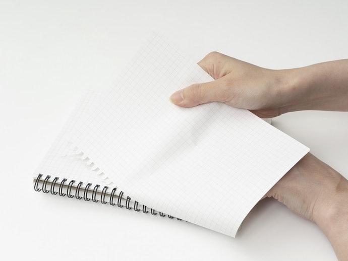 線圈式:可折疊書寫,適合用於狹小場所